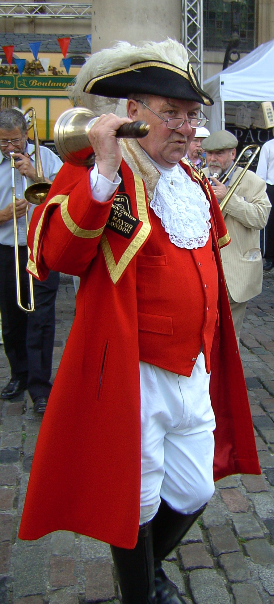 Pete Moore, Town Crier to the Mayor of London