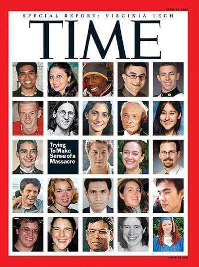 Time magazine cover -- Apr. 30, 2007