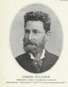 Joseph Pulitzer back in his prime