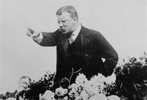 TR campaigning and doing his thing in 1900
