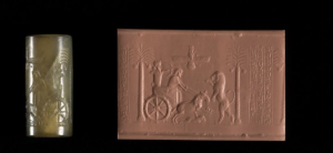 cylinder seal of Darius I from the British Museum
