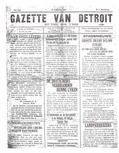 gazette van detroit