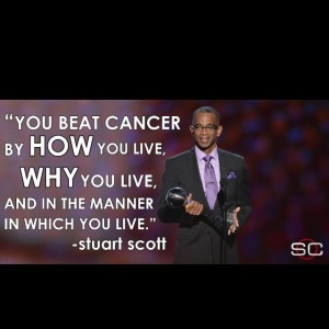 Stuart Scotts words as he accepted the Jimmy V Award. Credit: https://twitter.com/stuartscott