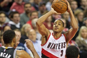 Portland Trailblazer's CJ McCollum CREDIT: http://www.blazersedge.com/2015/12/28/10676658/cj-mccollum-improved-nba-scorer-turn-heads